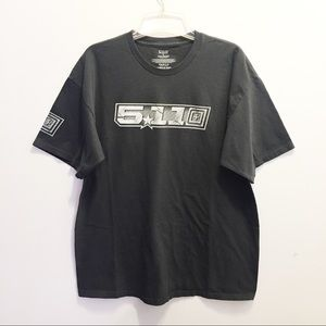 5.11 Tactical Gray Graphic Short Sleeve T-Shirt